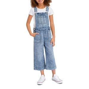 ✨HP✨ Jordache Girls Overalls Crop Wide Leg Med 7/8